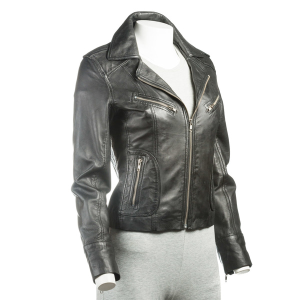 Ladies Leather Blazer