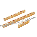 360 Brass CDA 360 Brass Neutral Links Industrial C36000 Brass Neutral Bars