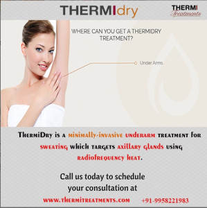 Thermidry treatment for Under Arm