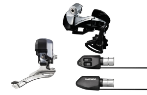 Shimano Dura-Ace 9071 Di2 Triathlon / TT Groupset - without Dual Control Levers