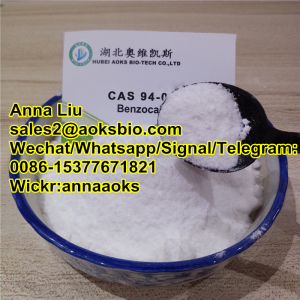 Benzocaine factory, Benzocaine price, Benzocaine powder price,Benzocaine manufactuer,sales2@aoksbio.