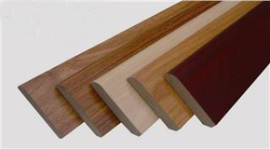 wooden laminate skirting