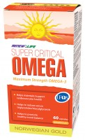 Renew Life Super Critical Omega: To Maintain Strong Bones and a Healthy Brain