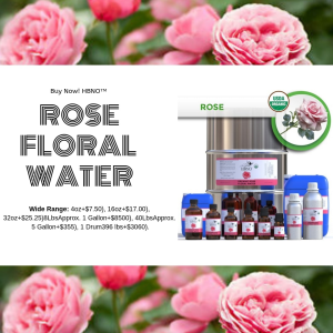 Shop Now! HBNO™ Organic Rose Water