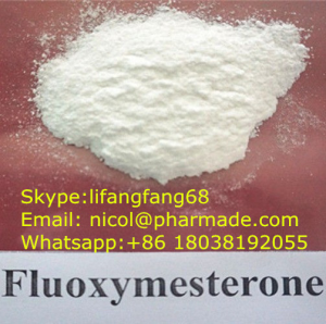 Fluoxymesterone Halotestin Anabolic Steroid Raw Testosterone Powder nicol@pharmade.com