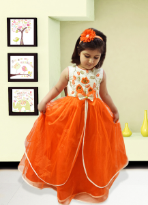 Latest Designer Childrens Party Dress