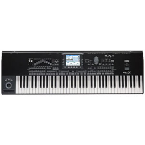 Korg PA3X76 76 Key Arranger Workstation Keyboard