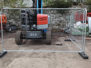 Welded Portable Fence