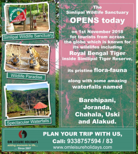 Similipal tour with Om Leisure Holidays