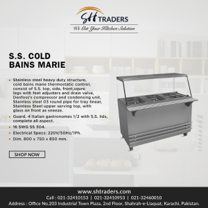 Pick For The Best Stainless Steel Bain Marie | SH Traders