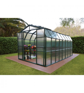 Grand Gardener 2 Twin Wall Greenhouse_8ft W x 16ft L_Model HG7216