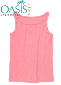 Ribbed Tank For Kids