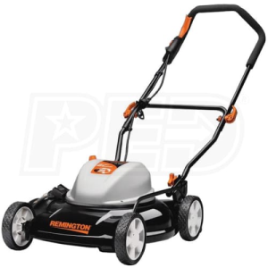 "Remington RM202A (19"") 12-Amp 2-in-1 Electric Push Lawn Mower"