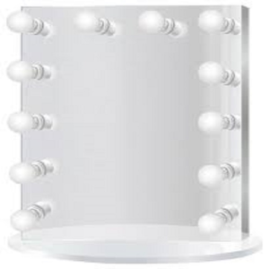 Hollywood Makeup Vanity Mirror