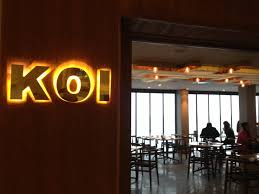 KOI is a Japanese restaurant in Abu Dhabi