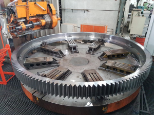Raw Mill Large Ring Girth Gear and Pinion Drive Assembly