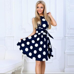 Buy Angelique Polka Dot Dress from our Clothing Store