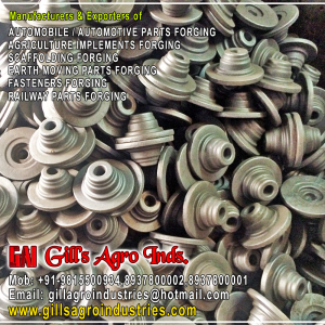 Agriculture Components Forgings