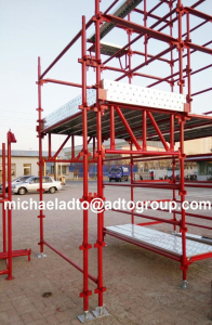 painted quickstage scaffolding