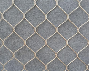 Knotted Cable Mesh