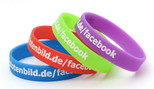Debossed Inkfilled Wristbands