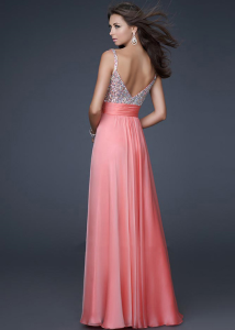 Chiffon Homecoming Dress