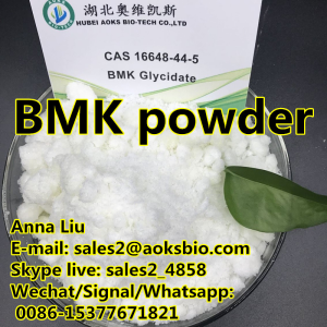 Hot sale 16648 44 5 BMK powder/ Benzeneacetic acid cas 16648-44-5 bmk bmk powder bmk price,sales2@ao