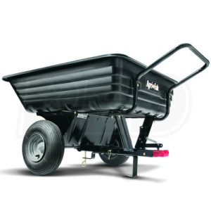 Agri-Fab 350 LB Convertible Poly Push/Tow Cart