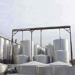 316L Liquid Storage Tank, ID 2600 mm