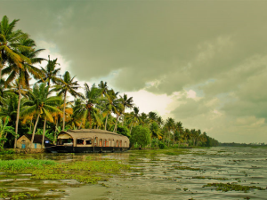 Alleppey in Mansoon Season