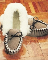 Sheepskin Moccasin 432 BG
