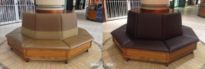 mall seating restoration