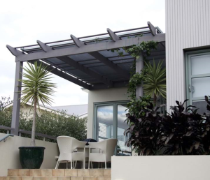 Retractable Shade Roof