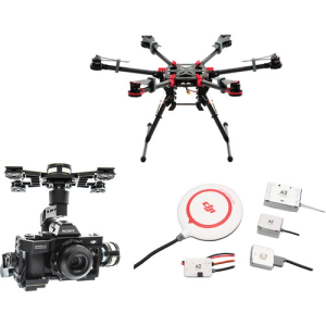 DJI Spreading Wings S900 with Zenmuse Z15-A7 Gimbal (A2) (IndoElectronic)