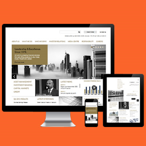 Corporate Websites with Responsive design and CMS