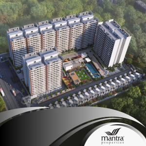 Project by Mantra Properties at Dhanori, Pune.