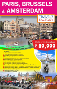 Paris Tour holiday packages from Delhi