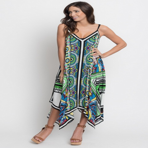 Buy online caribbean asymmetrical maxi dress  for women on sale at caralase.com