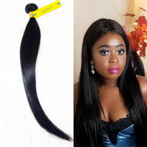 Unprocessed Peruvian straight hair