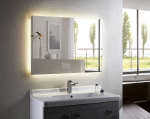 Illuminated LED Bathroom Mirror Horizontal Backlit Mirror