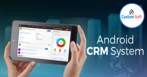 Android CRM software by CustomSoft