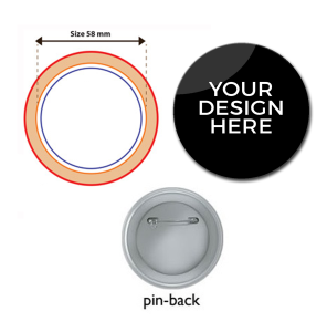 Customised Button Badges