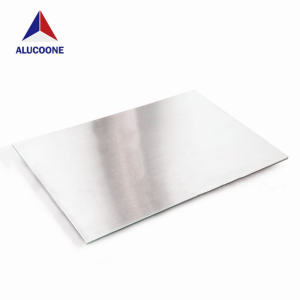 ALUCOONE Mirror Embossed Hairline Brush Brushed Emboss Polished Stainless Steel Composite Panel
