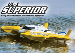 AquaCraft UL-1 Superior Brushless Hydro RTR 2.4GHz