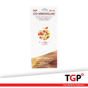Co-Amoxiclav PowSusp 250mg 62.5mg 5ml 60ml (TGP DBRL)-1