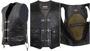 Leather vests( www.thebrandishwear.com )