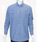 MENS COTTON CASUAL SHIRT IN DENIM