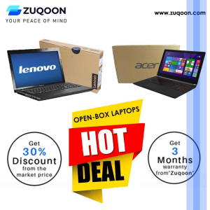 Open-Box Laptops Sale at Zuqoon UAE