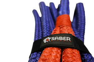 Saber 8000kg Kinetic Recovery Rope – 30% Stretch