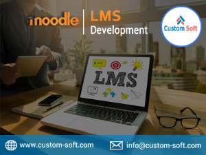 Moodle LMS Development in India by CustomSoft